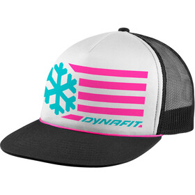 Dynafit Graphic Casquette Trucker, white/6070 flag